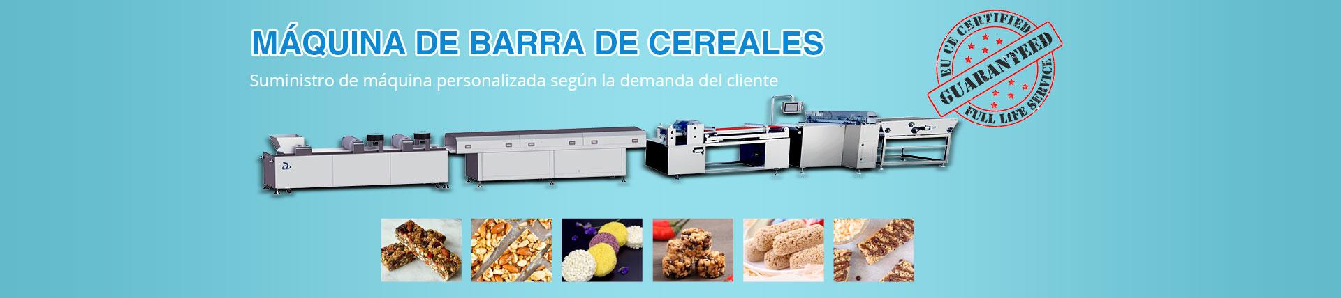 Máquina de barras de cereales
