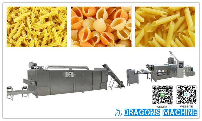 Macaroni Production Line Is Online By Dragons Machine