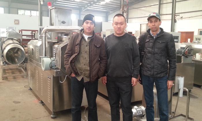 Visit Our Corn Flakes Machine