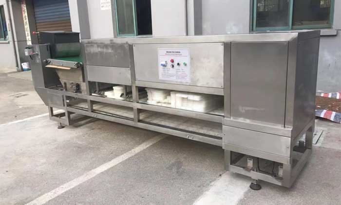 Actual Production of Oat Bar Forming Machine
