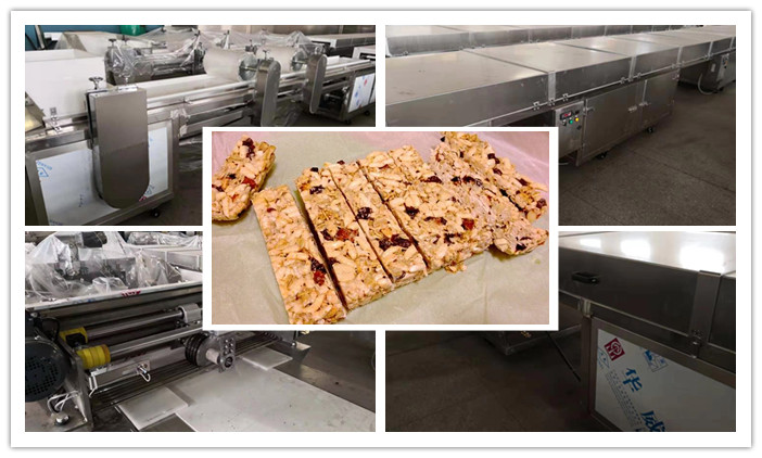 Granola Bar Processing Line Is Finished
