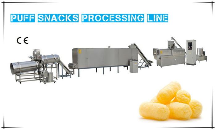 01 puff snacks line