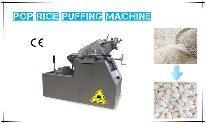Pop-rice Puffing Machine