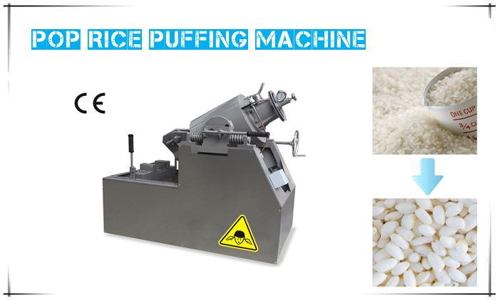 pop rice puffing machine