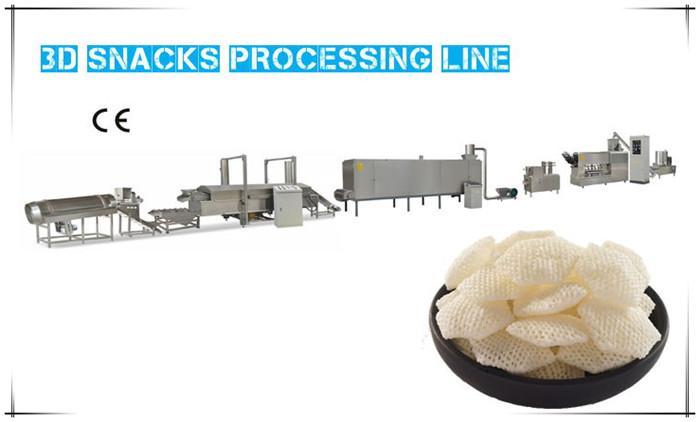 3D Snacks Processing Line