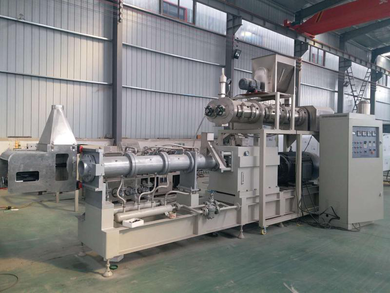 2 Ton Pet Food Processing Line Is Finished